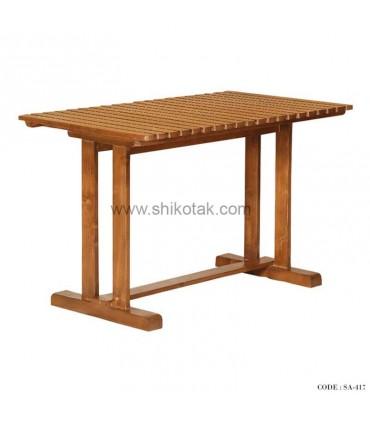 میز مستطیلی چوبی سری 417