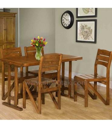 مدل میز  ناهار خوری تمام چوب سری 416