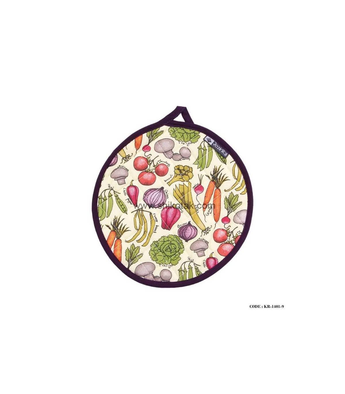 مدل دم کنی آشپزخانه طرح سبزیجات