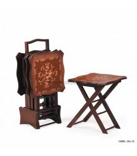 میز عسلی تاشو چمدانی سری72