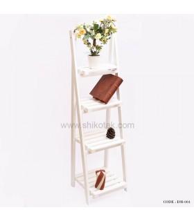 جاگلدانی طرح نردبان 4 طبقه PVC