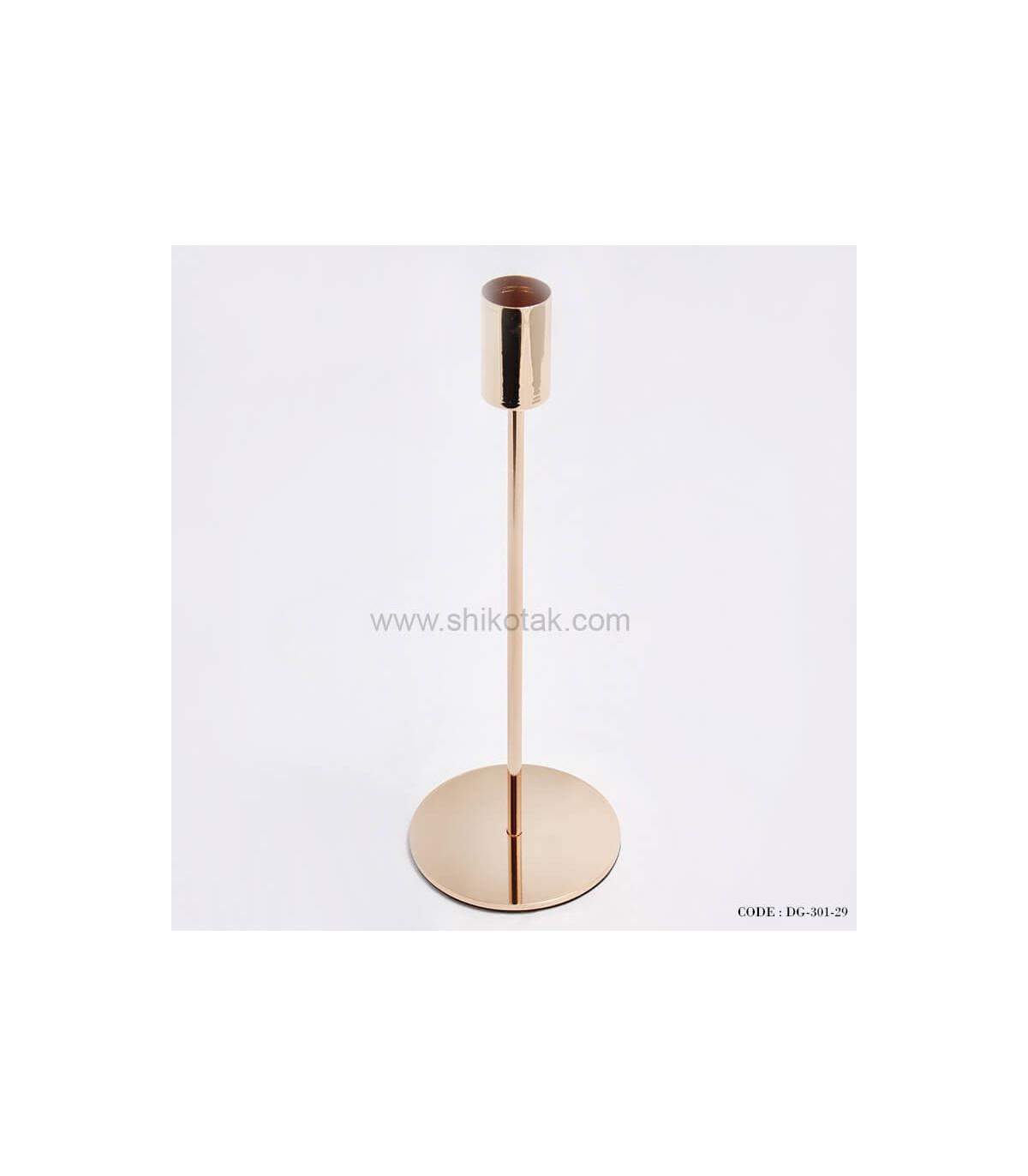 جدیدترین مدل پایه شمع طلایی