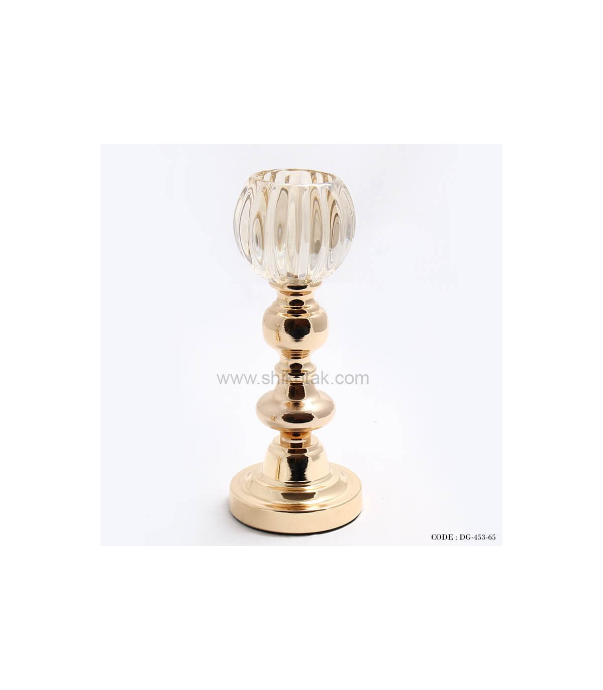 مدل جدید پایه شمع طلایی