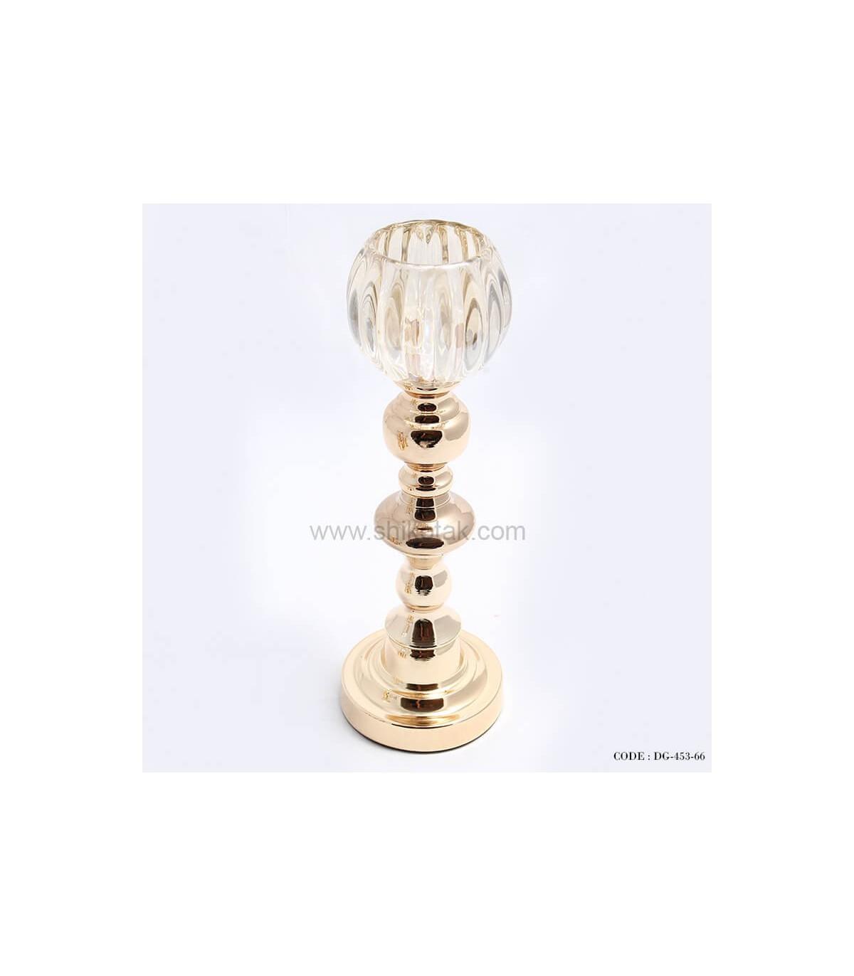 قیمت پایه شمع طلایی