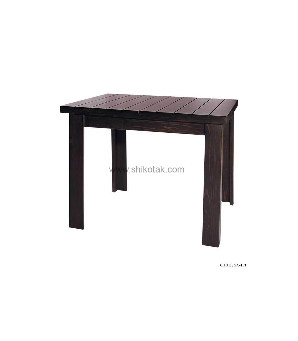 میز ناهار خوری چوبی کوتاه سری 413