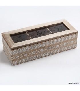 جعبه پذیرایی دمنوش 3 تایی