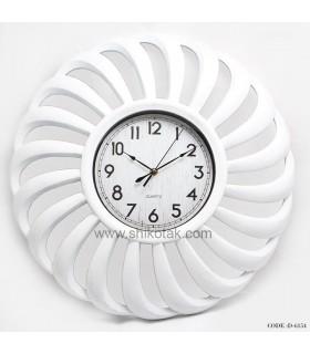 ساعت دیواری سفید مدرن
