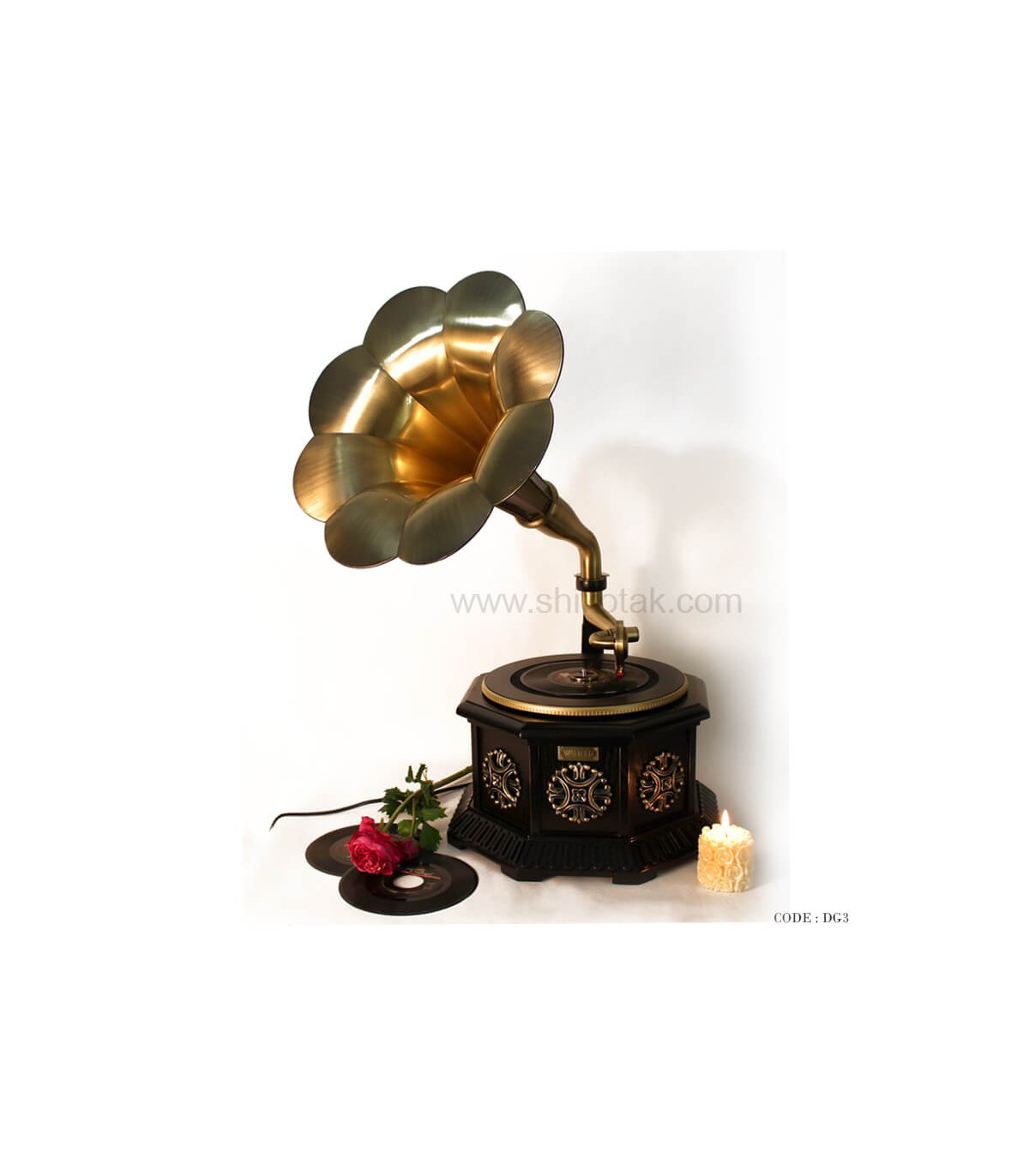 گرامافون رومیزی فلش خور سری 062