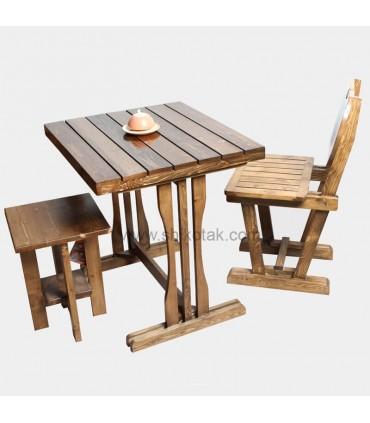 میز  غذاخوری دو نفره مستطیل
