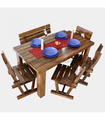 میز ناهار خوری کشو دار سری 414D