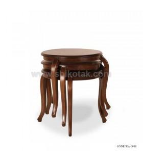 میز عسلی سه تایی کمجا سری 0088
