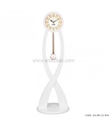 ساعت ایستاده سری 122 فلور سفید