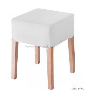 صندلی آرایش تولیکا مدل Nilz