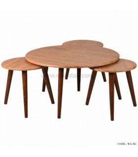 ست میز جلو مبلی و عسلی سری M4