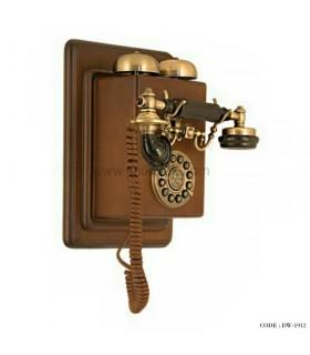 تلفن کلاسیک دیواری چوبی سری 1912