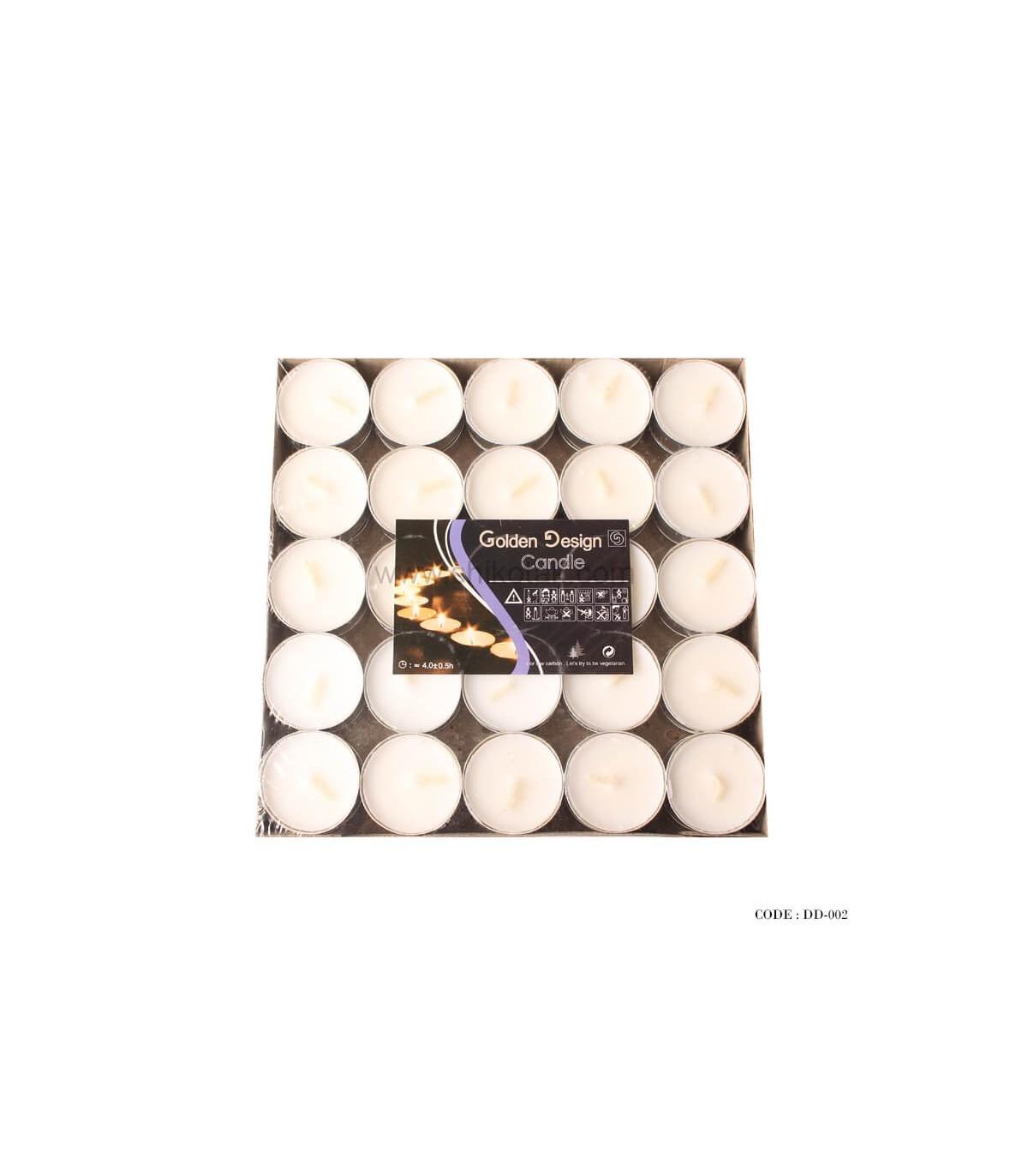 شمع وارمر 50 تایی سفید