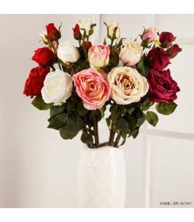 گل رز مصنوعی فرانسوی