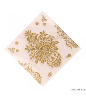 دستمال کاغذی طرح گل زیتونی