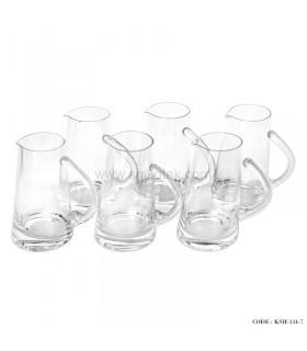 ست 6عددی لیوان شیشه ای سری 7-134