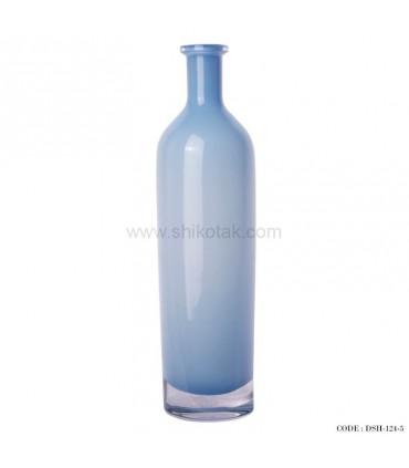 تصویر گلدان شیشه ای