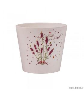مدل گلدان سرامیکی گلدار کوچک سری d