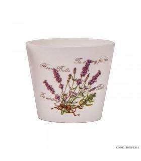 مدل گلدان گل سرامیکی کوچک سری f
