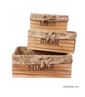 باکس چوبی نظم دهنده کمد سه سایز