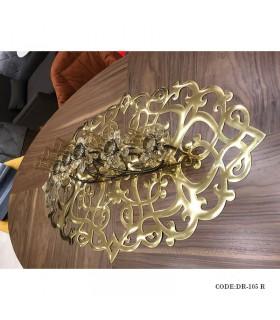 رانر میز ناهار خوری رامادون سری 105 طلایی