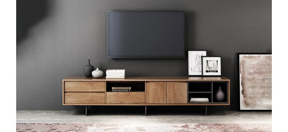 20 مدل از زیباترین طرح های جدید میز تلویزیون