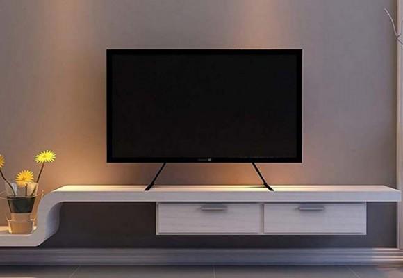 اندازه میز تلویزیون چقدر باشد خوب است؟