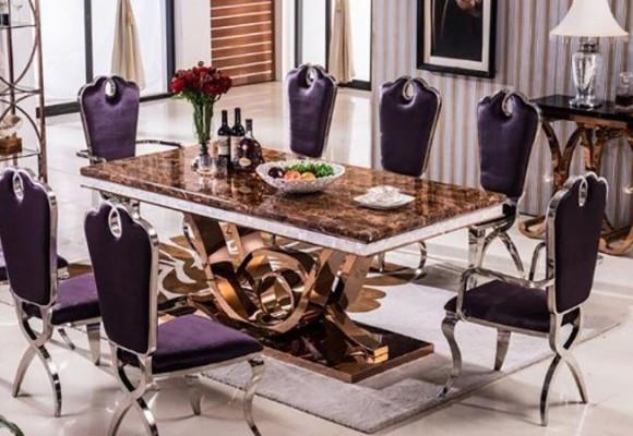 میز ناهارخوری چوبی بخرم یا ام دی اف؟!