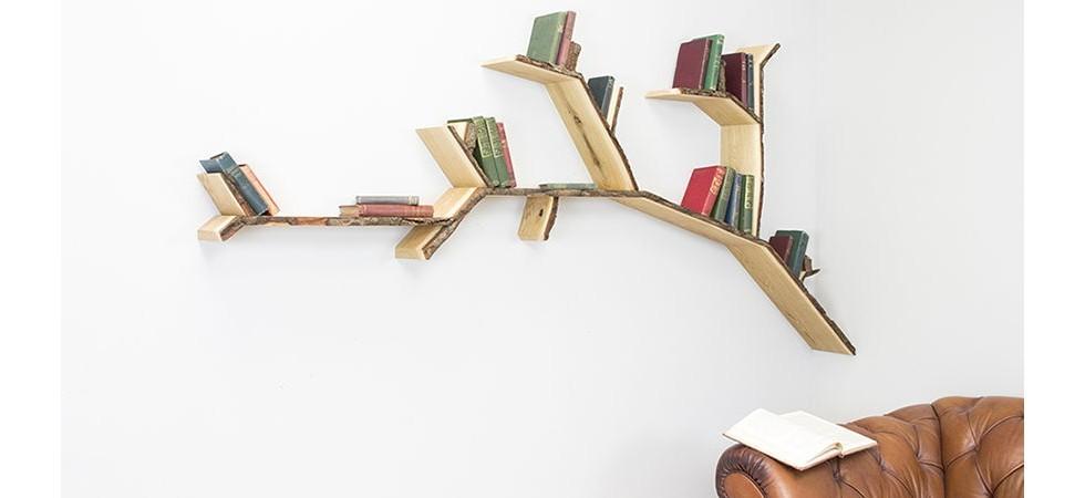 ساخت کتابخانه با وسایل دور ریختنی